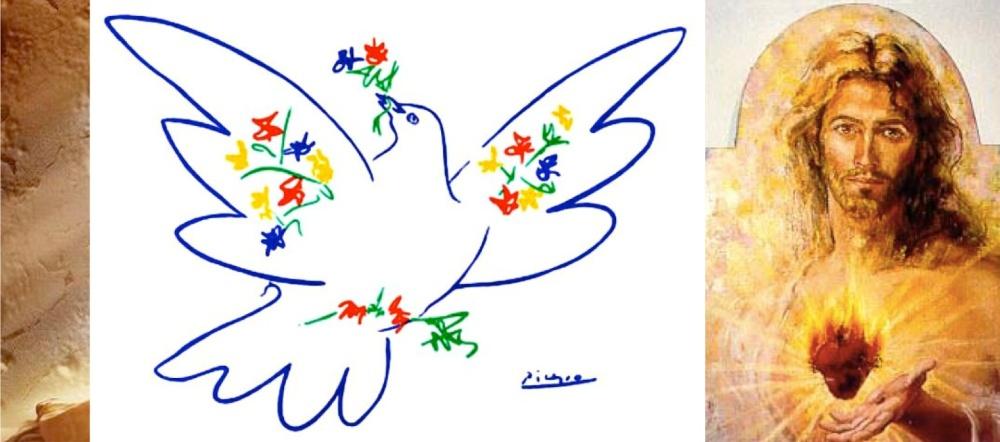 Picasso dove for pentecost