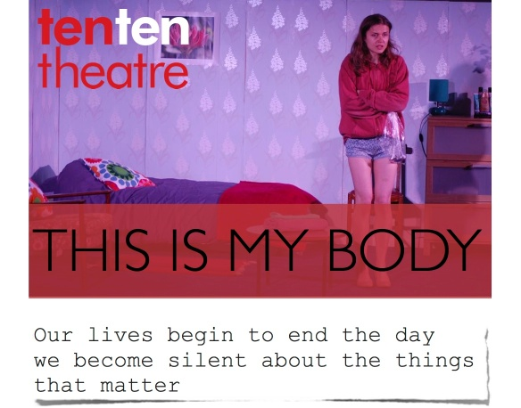 Ten Ten Theatre %22this is my body%22 Sacred Heart Church Teddington October 2014