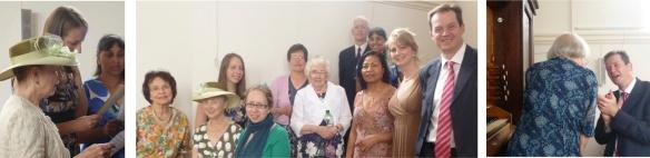 Singing in Teddington at Sacred Heart Church